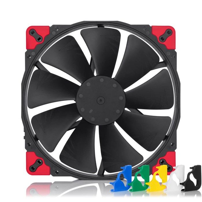Noctua NF-A20 PWM Chromax Black Swap 200mm Fan