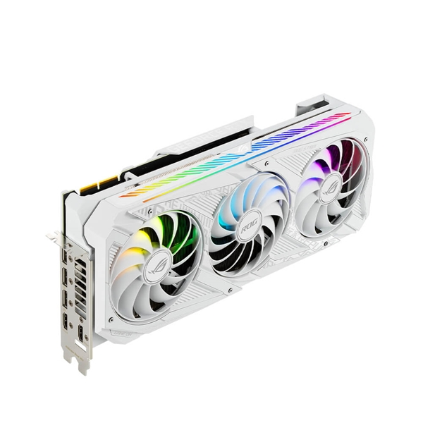 ASUS GeForce RTX 3090 ROG Strix White OC 24GB Graphics Card  3