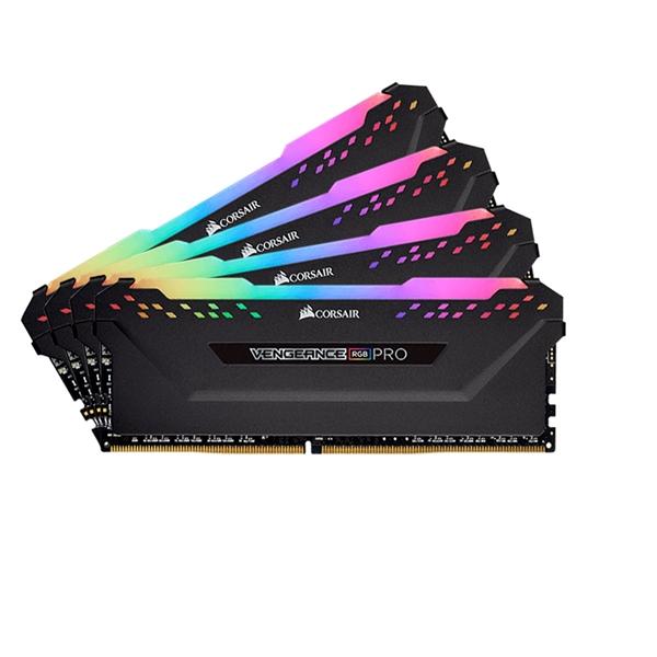 Memory - Corsair Vengeance RGB PRO 64GB (4x16GB) DDR4-2933
