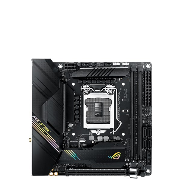 ASUS ROG STRIX B460-I GAMING Intel B460 Mini-ITX Gaming Motherboard