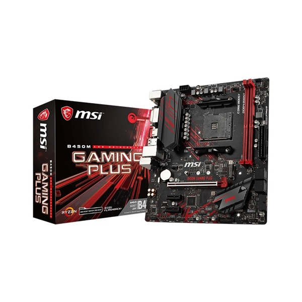 MSI B450M GAMING PLUS Motherboard  3