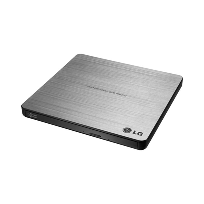 LG GP60NS50 Portable USB DVD Writer - Silver