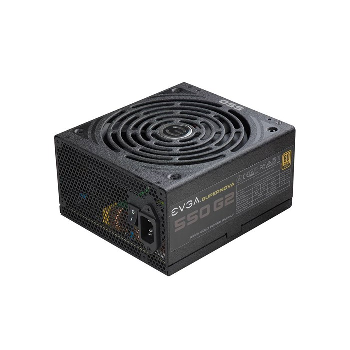 EVGA SuperNova 550 G2 550W Fully Modular 80 Plus Gold Power Supply