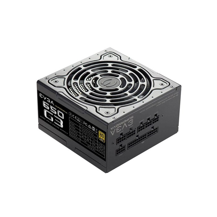 EVGA SuperNova 650 G3 650W 80Plus Gold Full Modular Power Supply