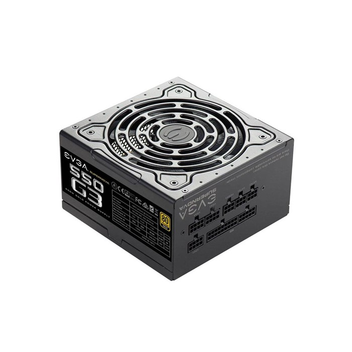 EVGA SuperNova 550 G3 550W 80Plus Gold Full Modular Power Supply