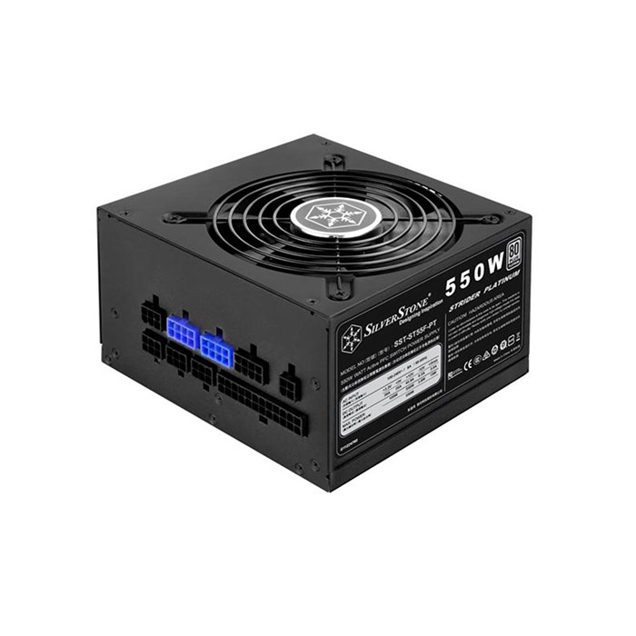 Silverstone Strider Series 550W Fully Modular 80 Plus Platinum Power Supply