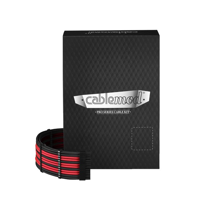 CableMod RT-Series PRO ModMesh Cable Kit - Black/Red