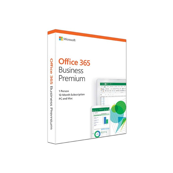 Microsoft Office 365 Business for 1 PC or Mac, 1-Year Subscription