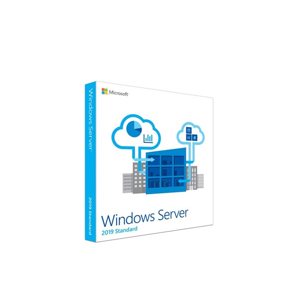 Microsoft Windows Server 2019 Standard 16 Core Eng (64-Bit OEM) - DVD