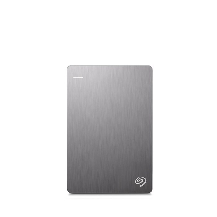 "Seagate Backup Plus Slim 2TB 2.5"" USB3.0 Drive - Silver"