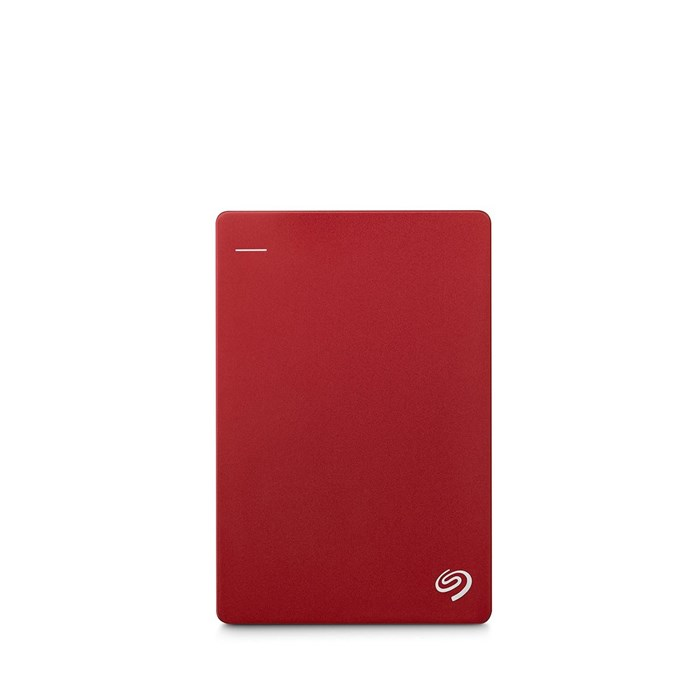 "Seagate Backup Plus Slim 1TB 2.5"" USB3.0 Drive - Red"