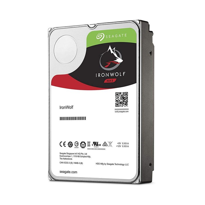 Seagate IronWolf 12TB 256MB SATA3 Hard Drive