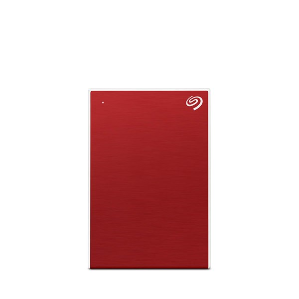Seagate One Touch 4TB Portable Drive - Red