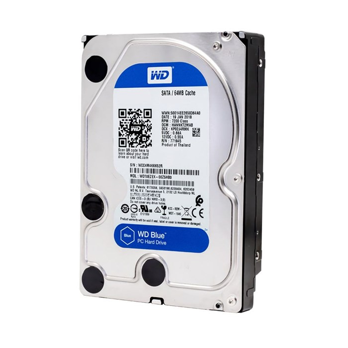 Western Digital Blue 1TB 64MB SATA3 Hard Drive