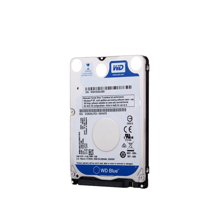 "Western Digital Blue 500GB 2.5"" SATA3 Hard Drive"