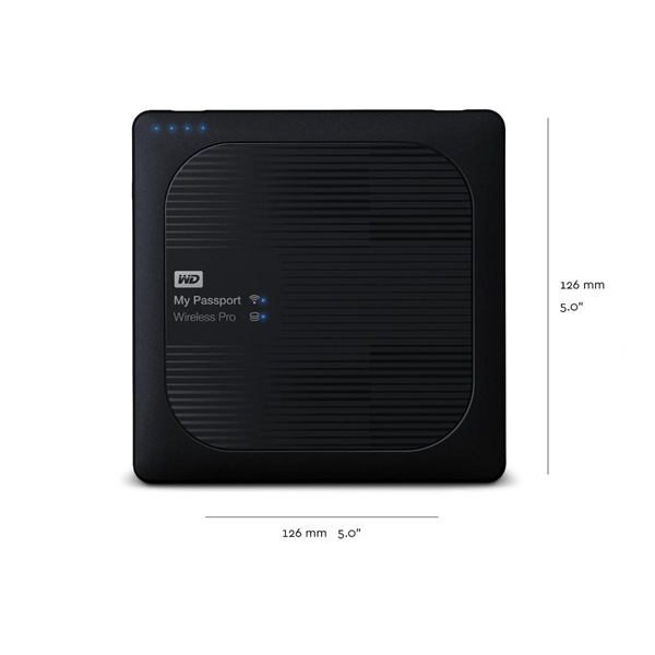 Western Digital My Passport Wireless Pro 3TB USB3.0 External Drive  4