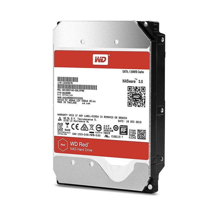 Western Digital Red 10TB 256MB SATA3 Hard Drive