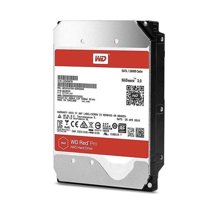 Western Digital Red PRO 10TB 256MB SATA3 Hard Drive