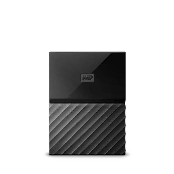 Western Digital My Passport 2TB USB3.0 Portable Drive - Black