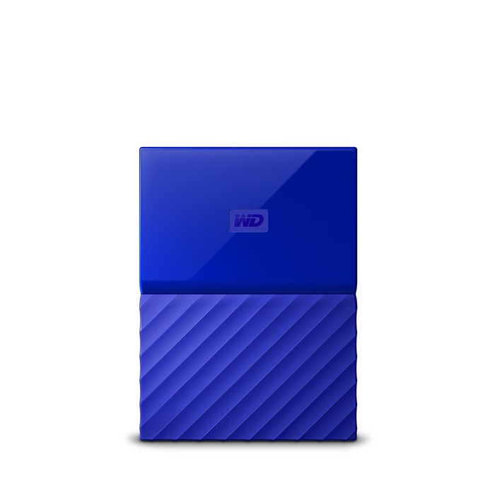 Western Digital My Passport 2TB USB3.0 Portable Drive - Blue
