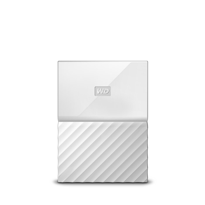 Western Digital My Passport 2TB USB3.0 Portable Drive - White