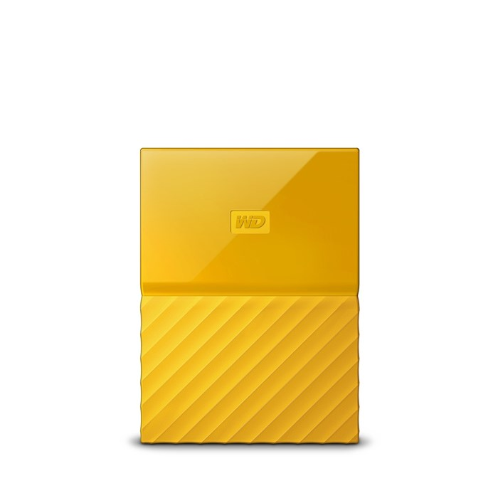 Western Digital My Passport 4TB USB3.0 Portable Drive - Yellow