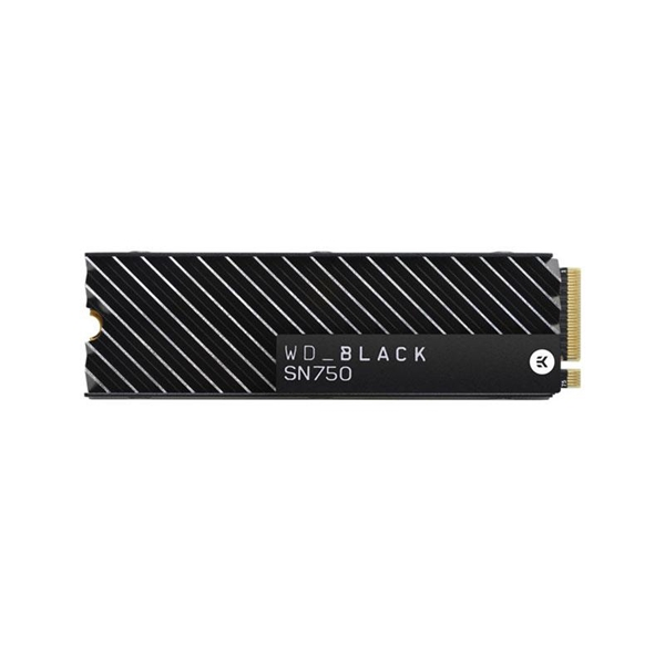 Western Digital Black SN750 1TB M.2 NVMe SSD with Heatsink  1
