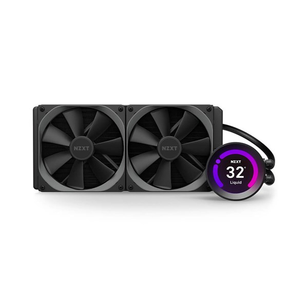 NZXT Kraken Z63 280mm RGB AIO Liquid Cooling Kit with LCD Display