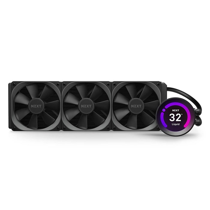 NZXT Kraken Z73 360mm RGB AIO Liquid Cooling Kit with LCD Display