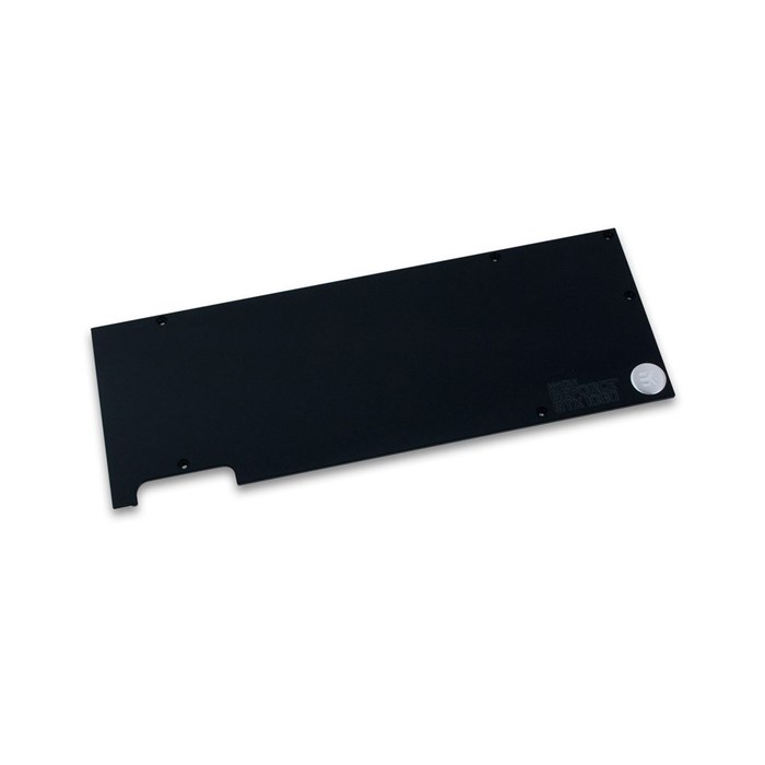 EKWB  EK-FC1080 GTX Backplate - Black