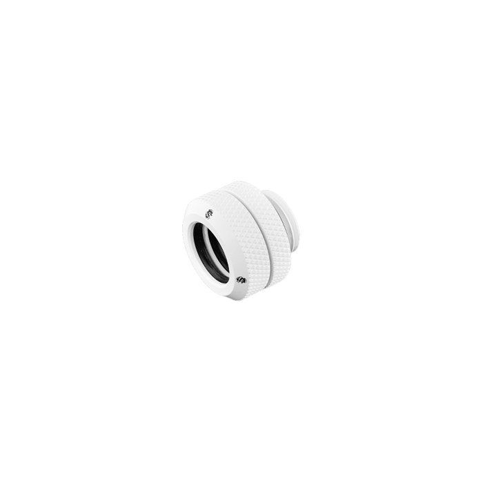 "Bitspower G1/4"" Multi-Link For OD 12mm - Deluxe White"