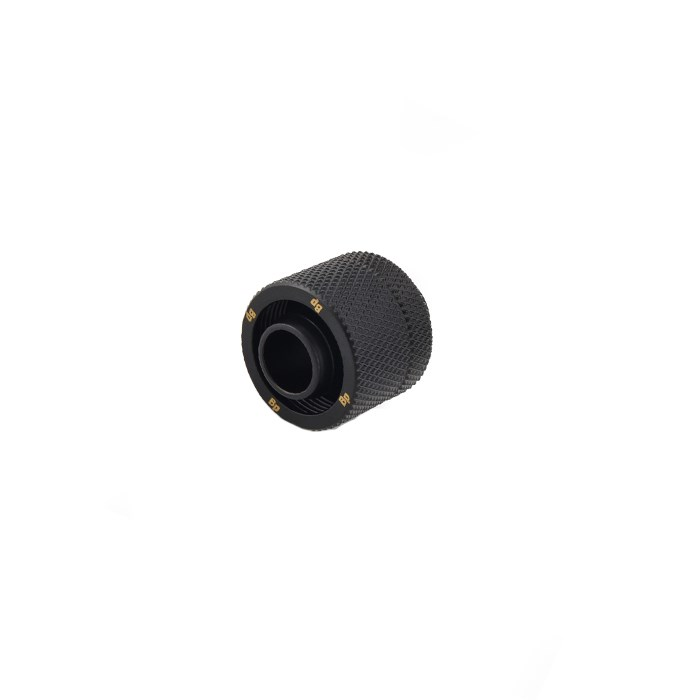 "Bitspower G1/4"" Compression Fitting CC3 V3 For ID 3/8"" OD 5/8"" Tube - Matte Black"