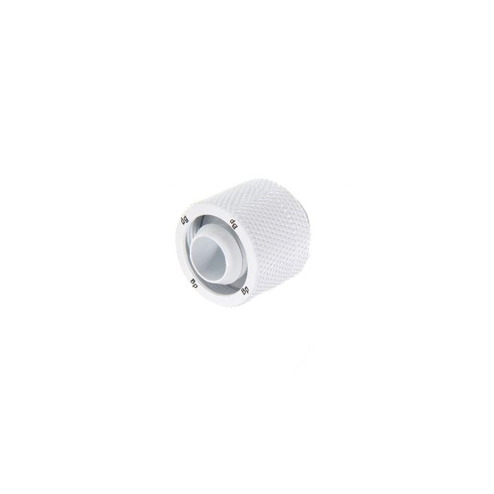 "Bitspower G1/4"" Compression Fitting CC3 V3 For ID 3/8"" OD 5/8"" Tube - Deluxe White"