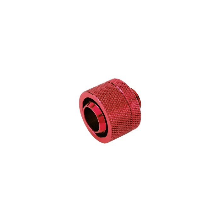 "Bitspower G1/4"" Compression Fitting CC5 V3 For ID 1/2"" OD 3/4"" Tube - Deep Blood Red"