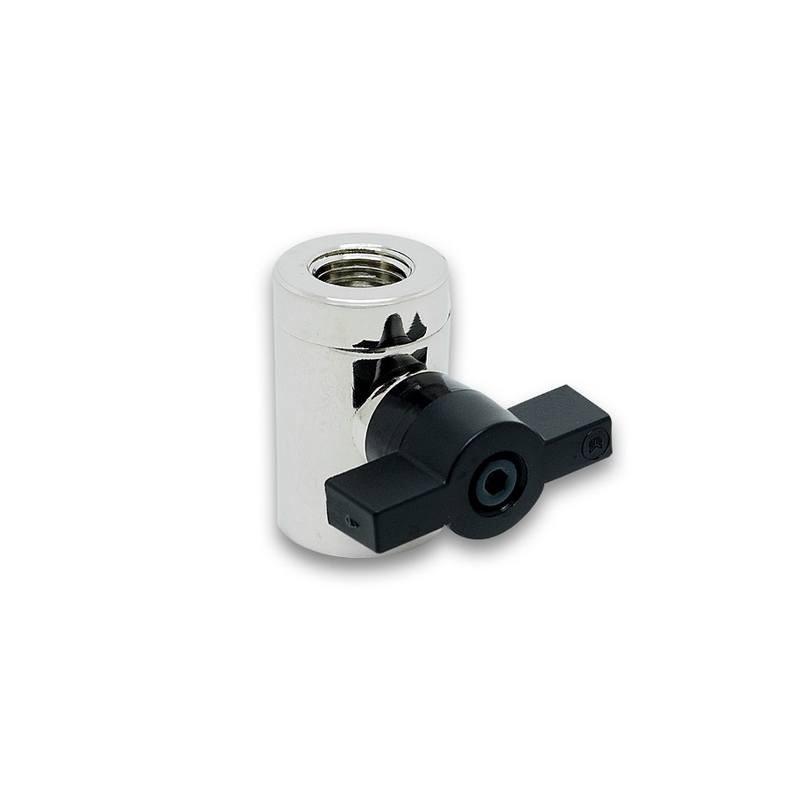 EK-AF Ball Valve 10mm Black 2 Pack G1//4