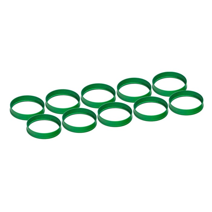 EKWB EK-Torque HTC-12 Color Rings Pack - Green (10pcs)