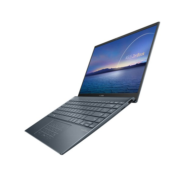 "ASUS ZenBook UM425IA-AM035R 14"" R7-4700U 8GB 512GB SSD W10Pro Pine Grey Laptop - pr_288765"