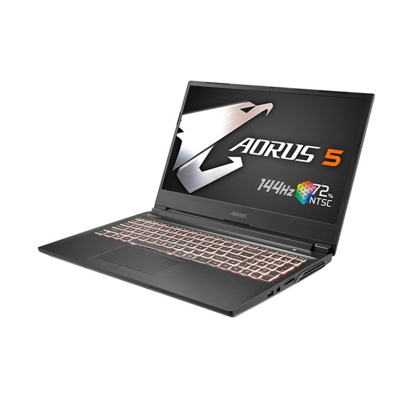 "Gigabyte AORUS 5 MB-5AU1030SH 15.6"" 144Hz  i5-10200H GTX 1650 Ti 8GB 512GB Gaming Laptop - pr_291675"