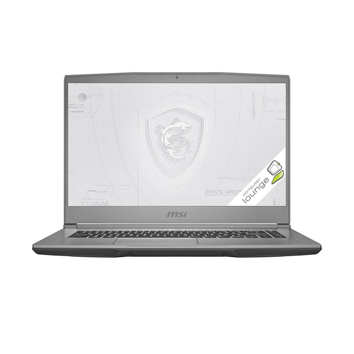 "MSI WF65 10TJ-473NZ 15.6"" i7-10750H 16GB 1.5TB Quadro T2000 Workstation Laptop"