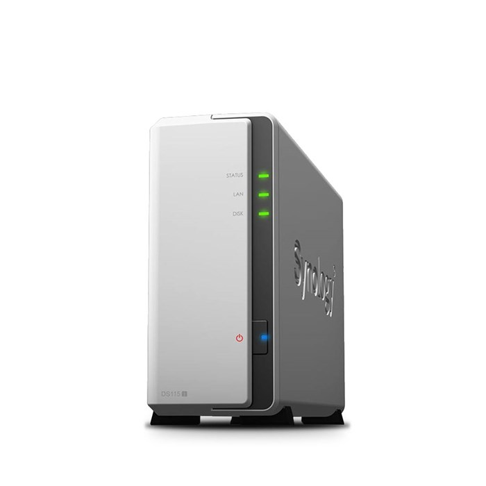Synology  DiskStation DS115j, 1-Bay NAS Server - Diskless