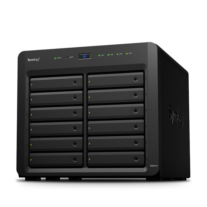 Synology  DiskStation DS2415+, 12-Bay NAS Server - Diskless