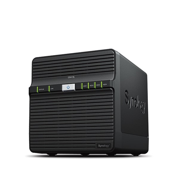 Synology DiskStation DS418j 4-Bay NAS Server - Diskless - pr_272965