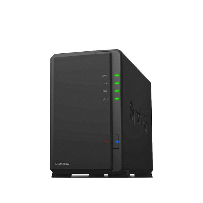 Synology DiskStation DS218play 2 bay Diskless NAS System