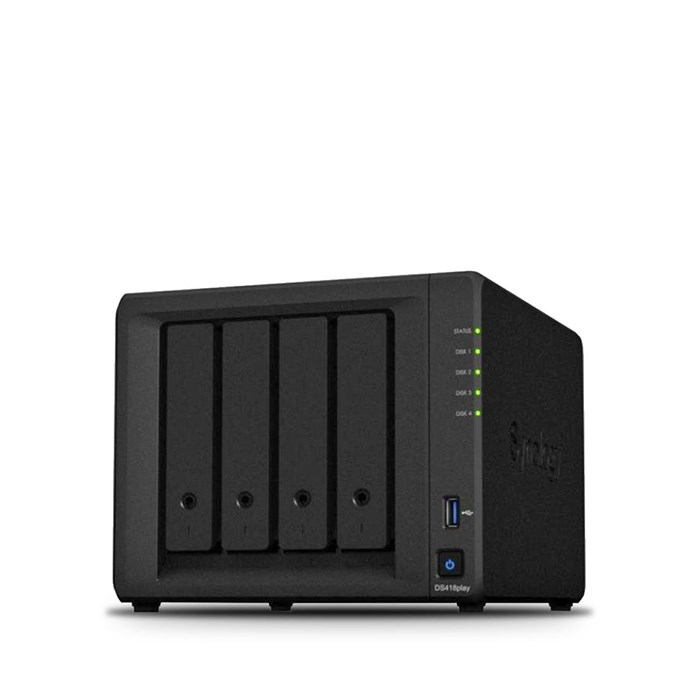 Synology DiskStation DS418play 4 Bay Diskless NAS System