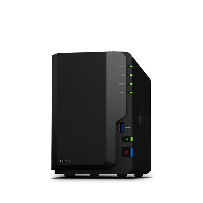Synology DiskStation DS218 2-Bay Diskless NAS System