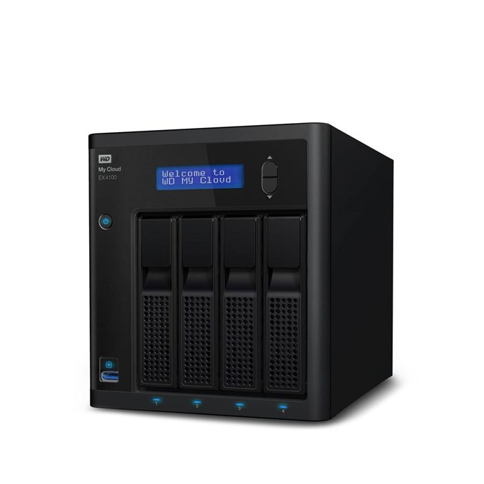 Western Digital My Cloud Expert EX4100 Diskless NAS Storage