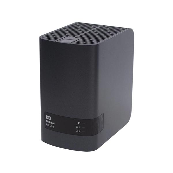 Populated - Western Digital My Cloud EX2 Ultra 4TB 2-Bay NAS