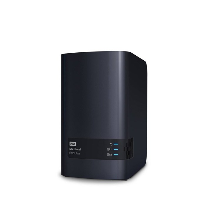Western Digital My Cloud EX2 Ultra Diskless 2-Bay NAS Storage
