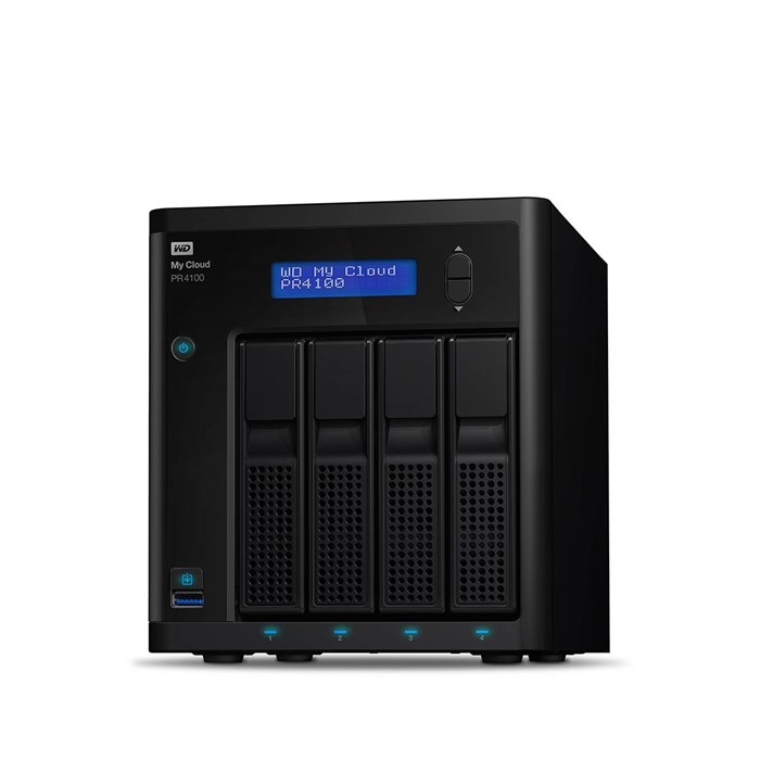 Western Digital My Cloud Pro PR4100 Diskless NAS Storage