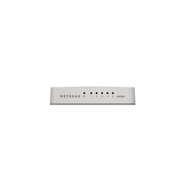 Unmanaged - Netgear GS205 5-Port Gigabit Switch - Computer